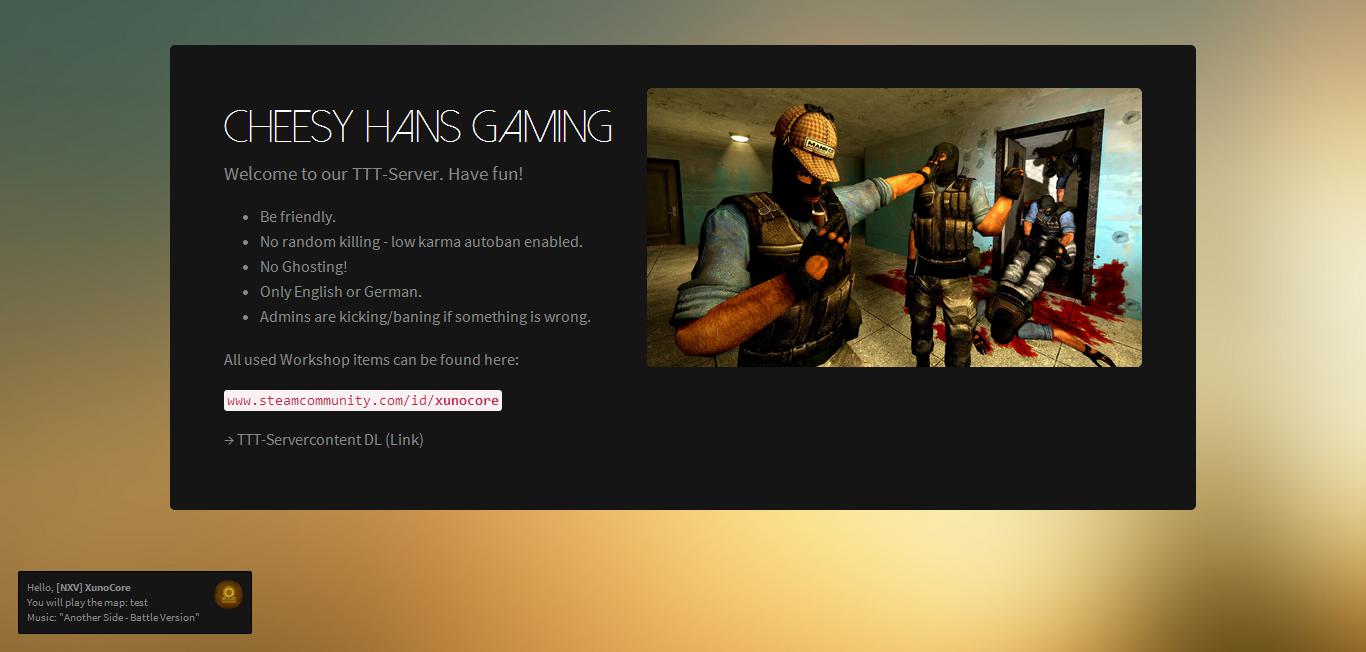 GitHub - CodeBrauer/gmod-loadingscreen: a garrys mod loading screen