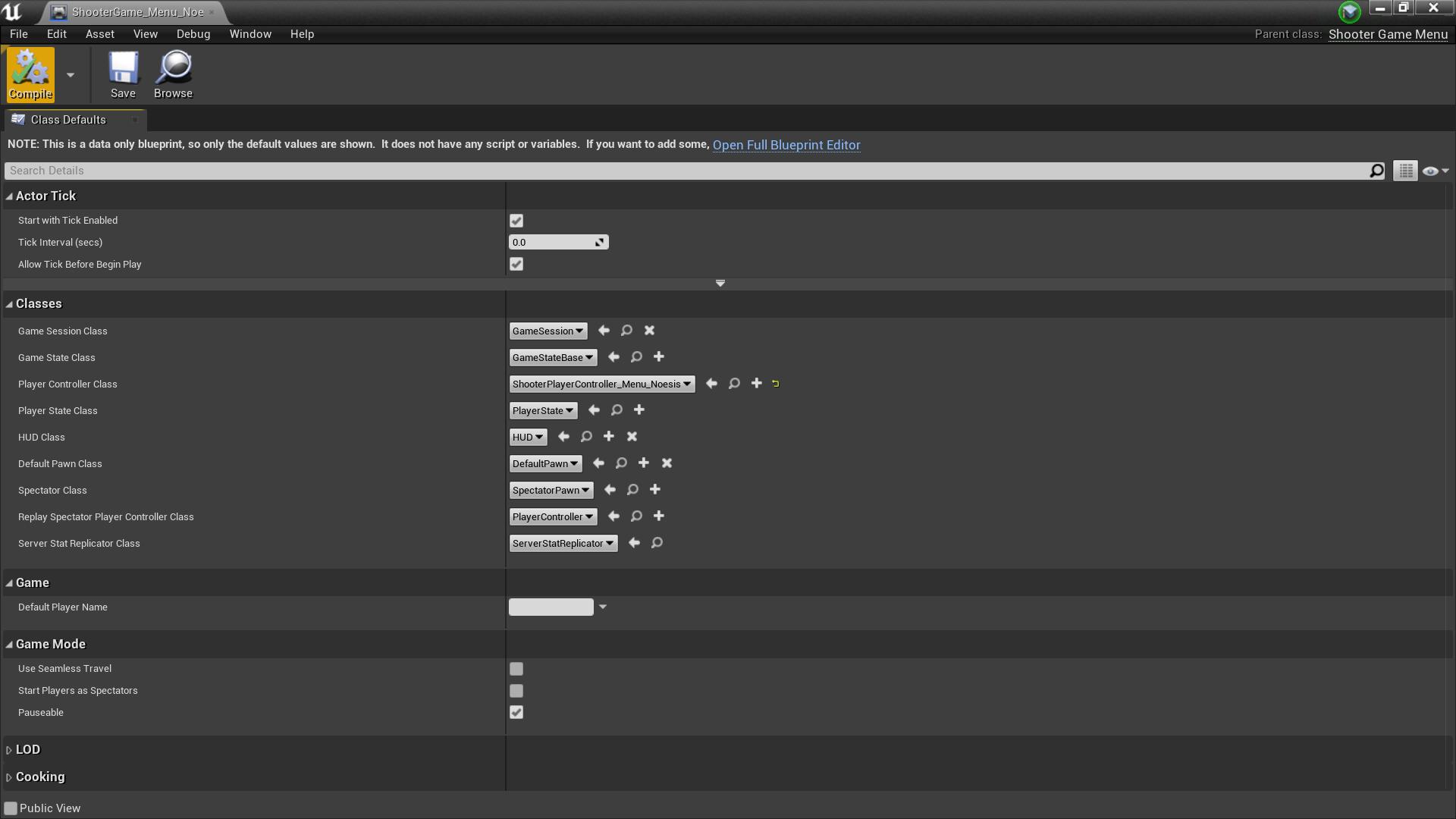 Blueprint'/Game/ShooterGame/ShooterGame_Menu_Noesis.ShooterGame_Menu_Noesis'