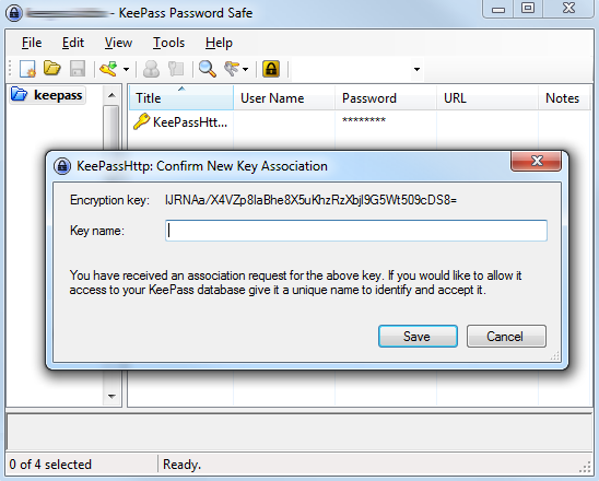 keepass-association-key