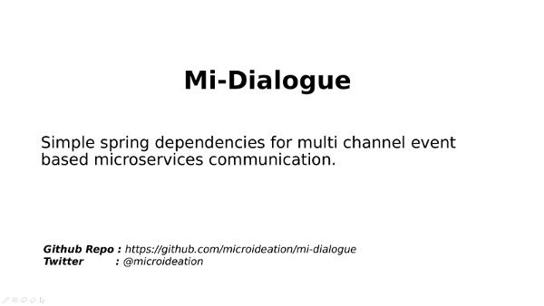 Introduction to Mi-dialogue