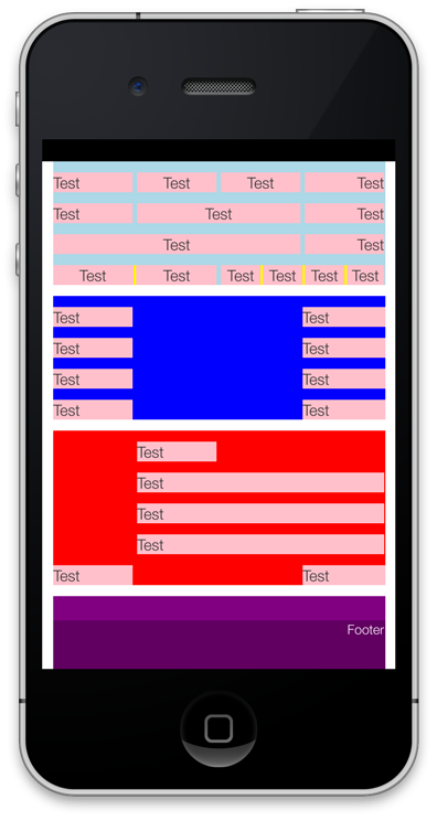 Layout example (Vertical)