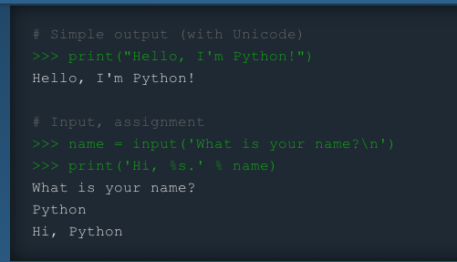 Code font in examples hard to read · Issue #73 · python