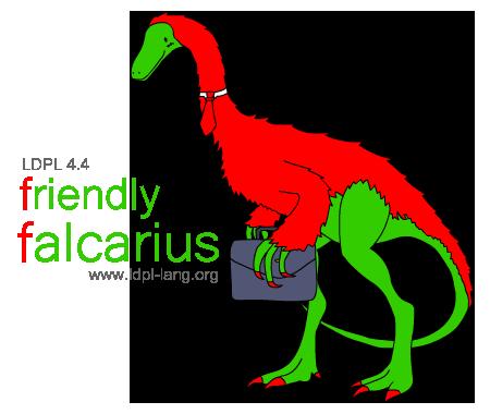 LDPL 4.4 'Friendly Falcarius'