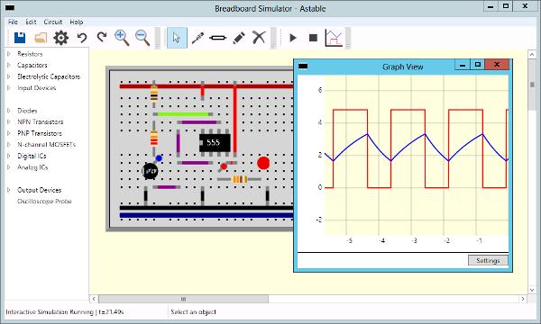 555 Astable Screenshot