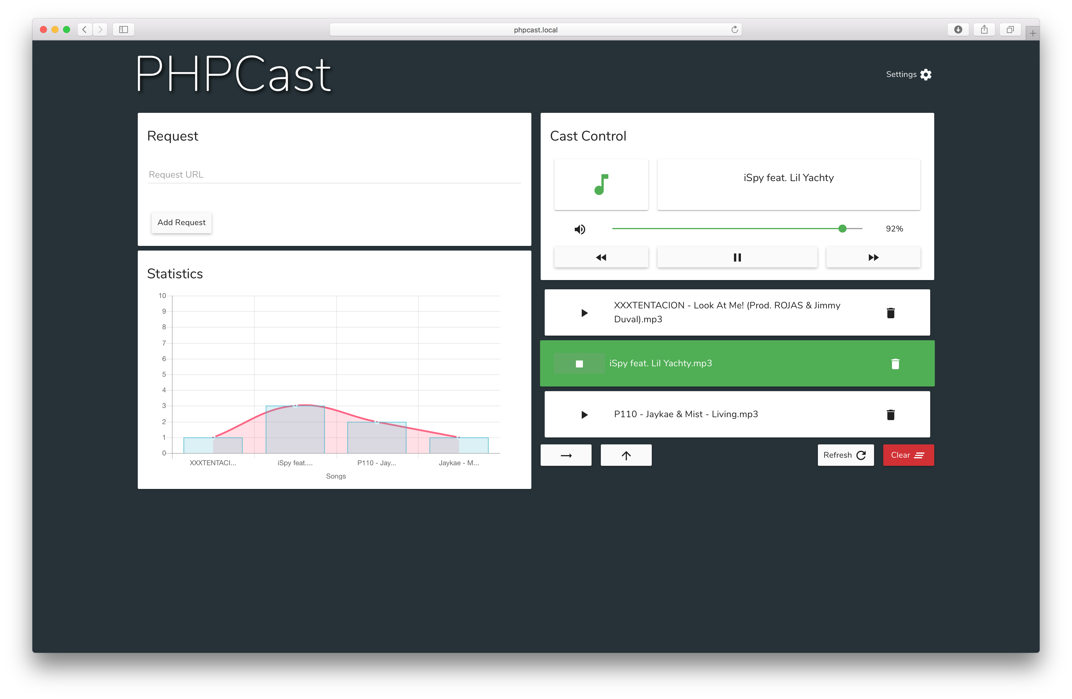 GitHub - AceXintense/PHPCast: PHPCast is a PHP application