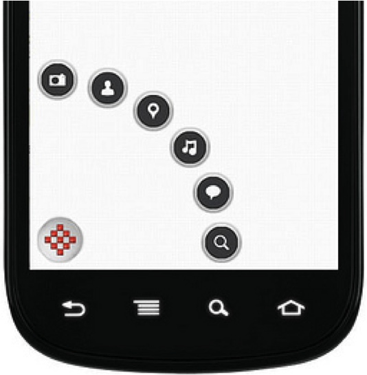 Android Menu Example Diagram