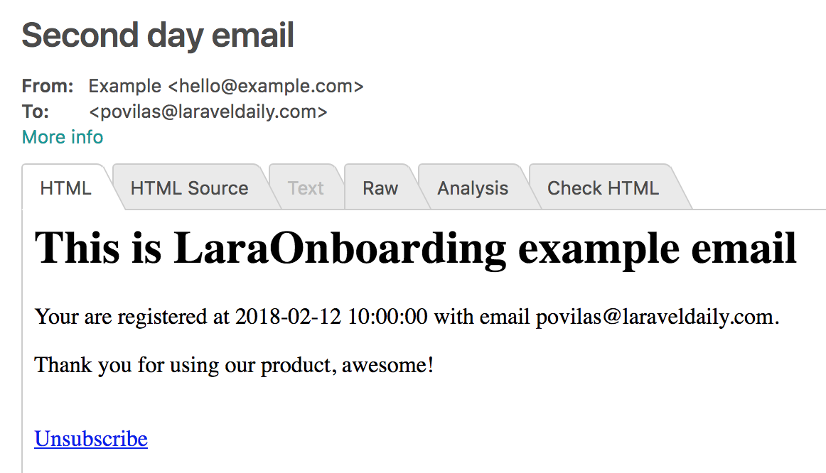 LaraOnboarding screenshot