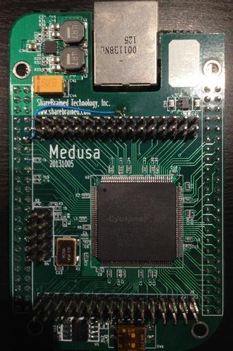 Medusa Cape prototype