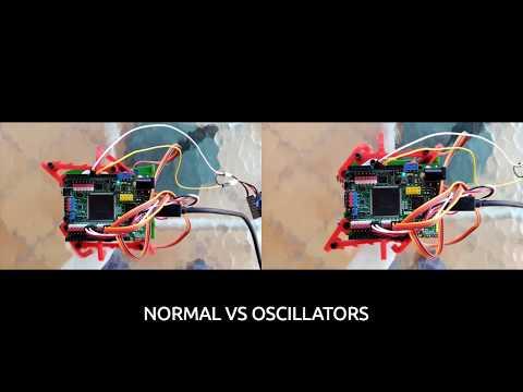 Normal VS Triangular oscillators movement