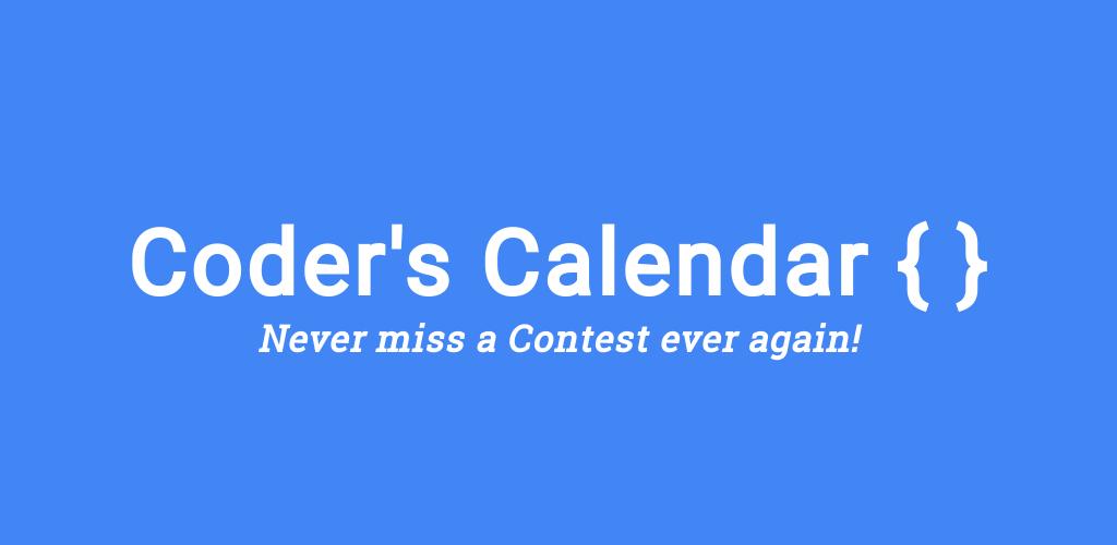 Coder's Calender