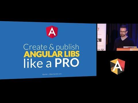 Juri Strumpflohner - Create and publish Angular libs like a Pro