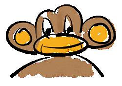 UI AutoMonkey Mascot