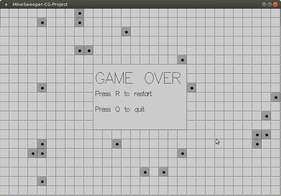 GitHub - Akhilsudh/MineSweeper-CG-Project: Computer Graphics