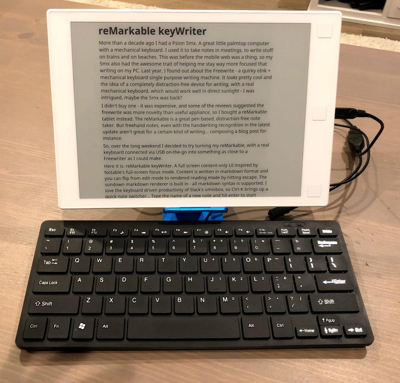 Image of reMarkable keyWriter