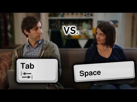 Tabs versus Spaces (Silicon Valley)