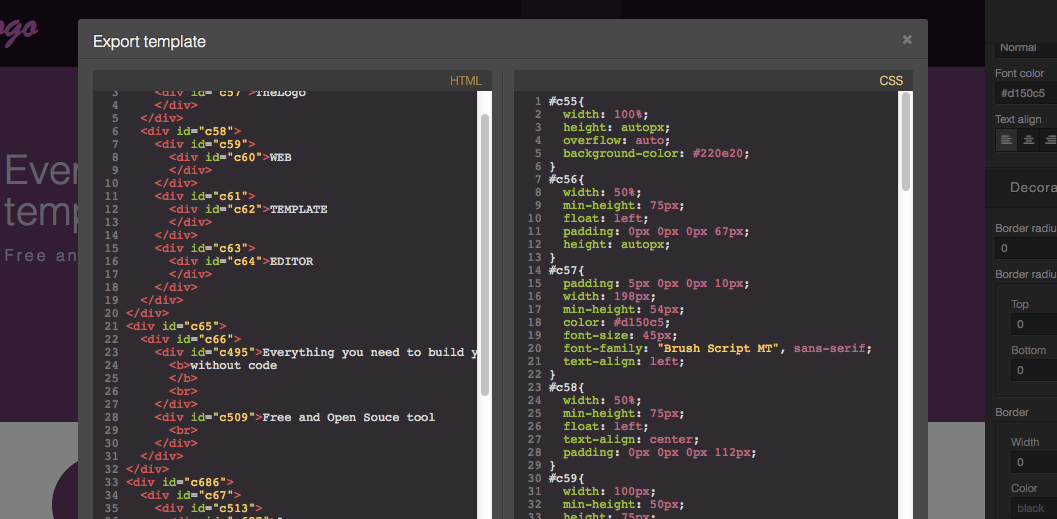 Grapesjs Free And Open Source Web Template Editor Designer News