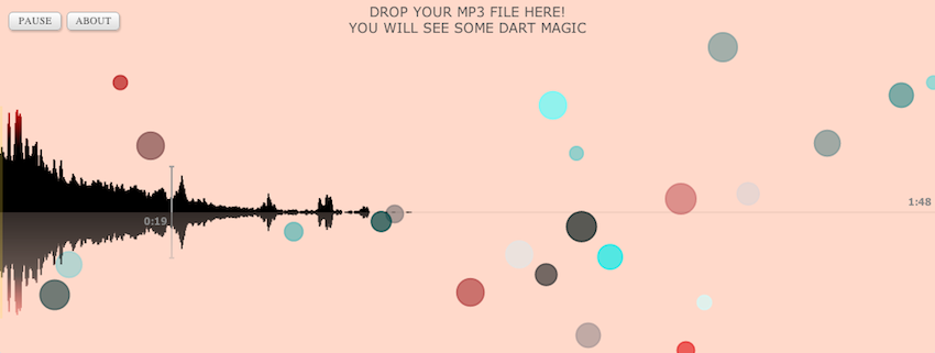 Dart Music screenshot