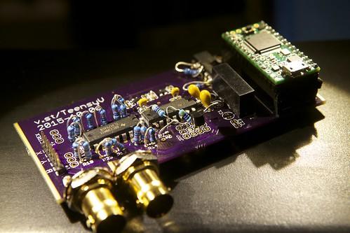 v.st vector board prototype