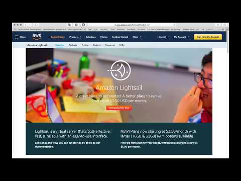 Video Instructions Automatic backups for AWS Lightsail