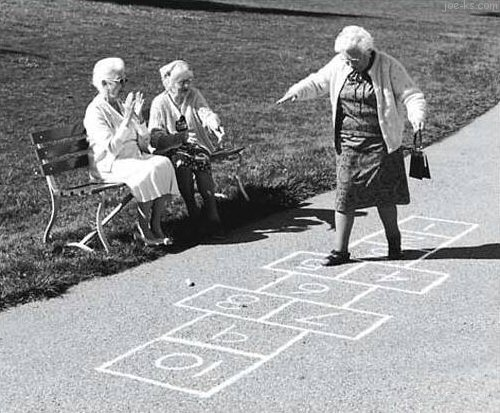 Hopscotch for Seniors