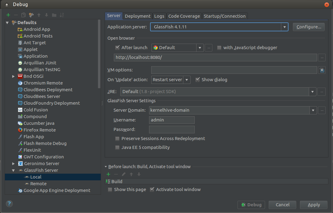 Debugging hive engine in IntelliJ IDEA · roscisz/KernelHive