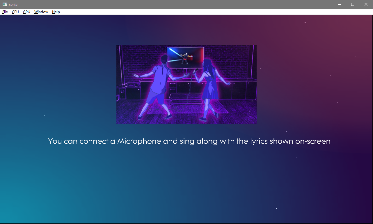 Xenia Emulator Kinect