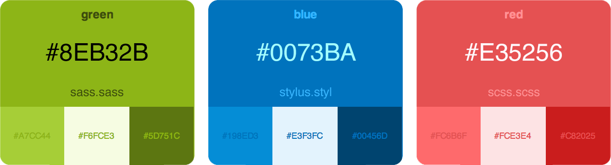 Github Bvaughn Palettable Generates An Html Color Palette