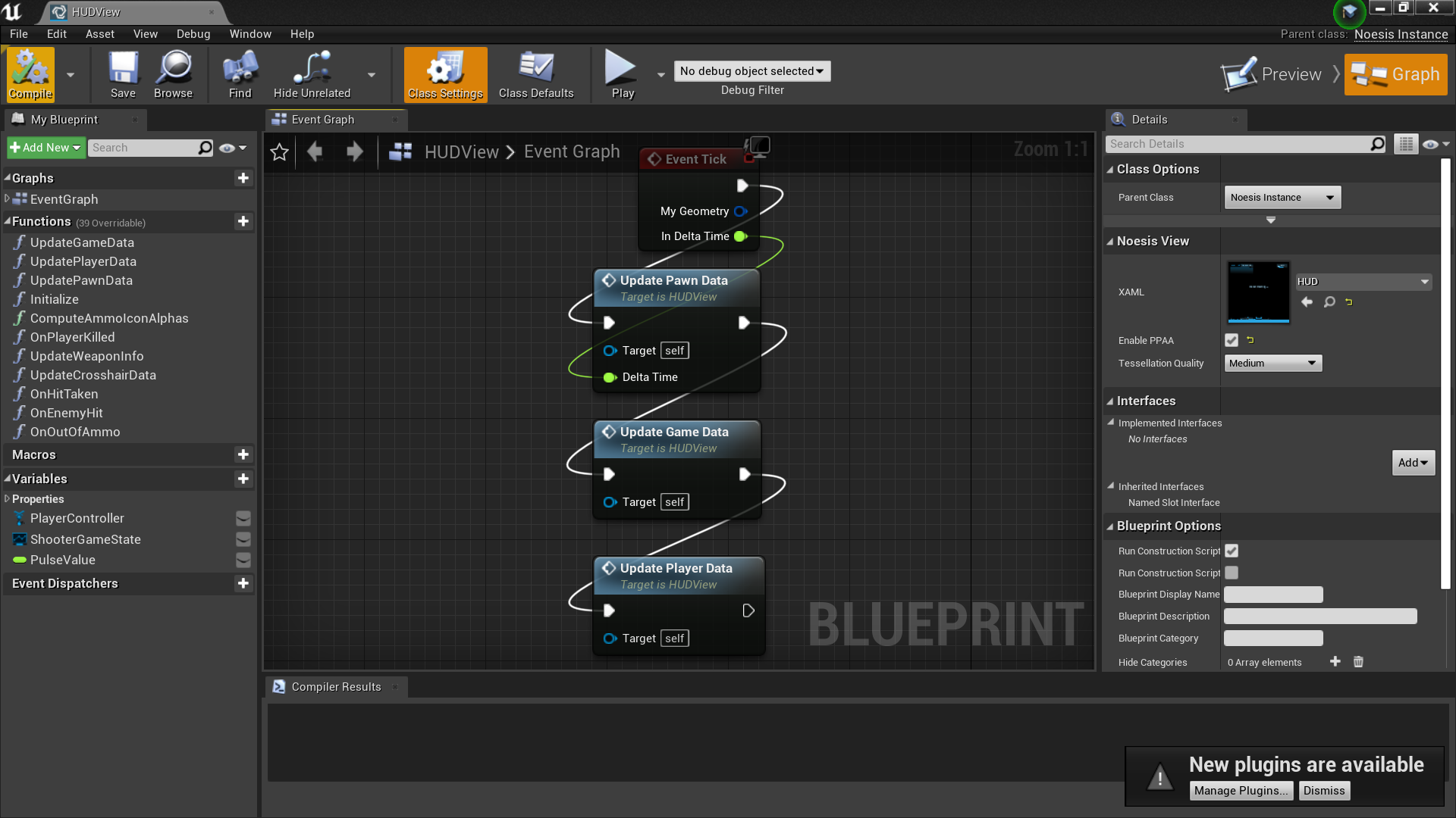 NoesisBlueprint'/Game/ShooterGame/HUDView.HUDView'
