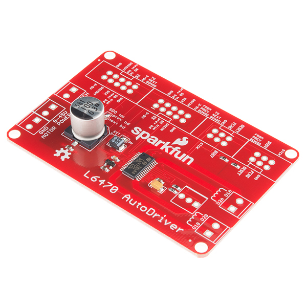 GitHub - sparkfun/L6470-AutoDriver: BabyDriver stepper board