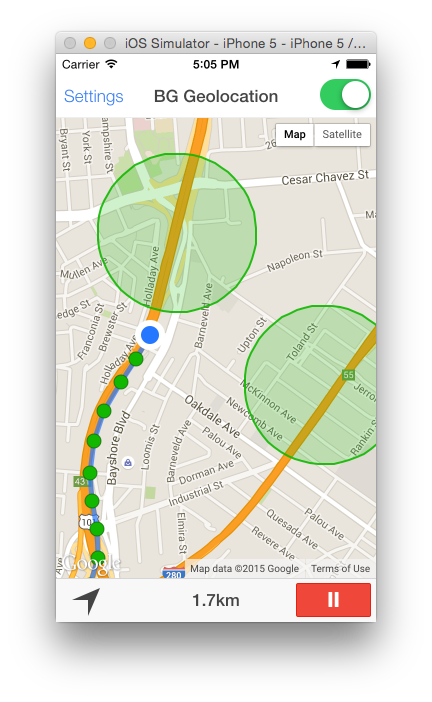 Geofence Features