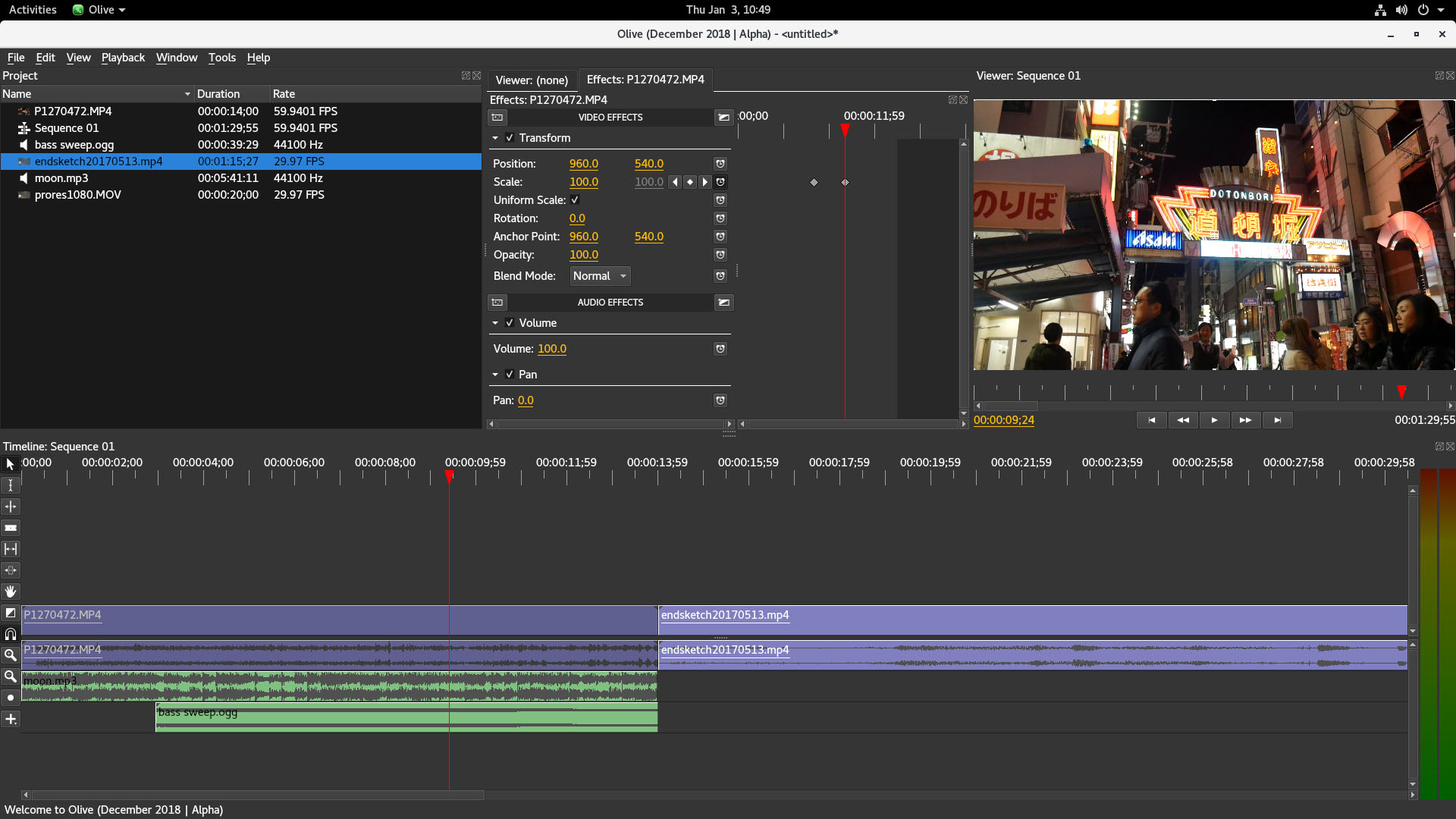 GitHub - olive-editor/olive: Free open-source non-linear video editor