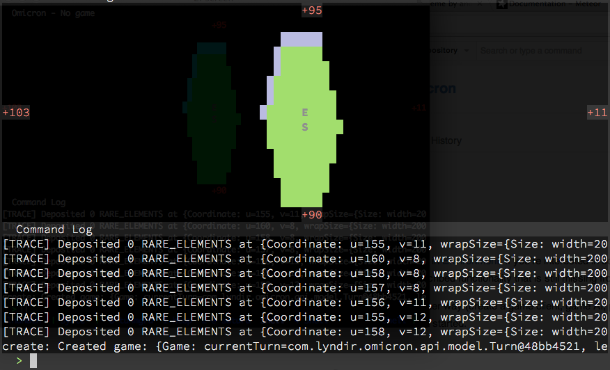 omicron-cli screenshot