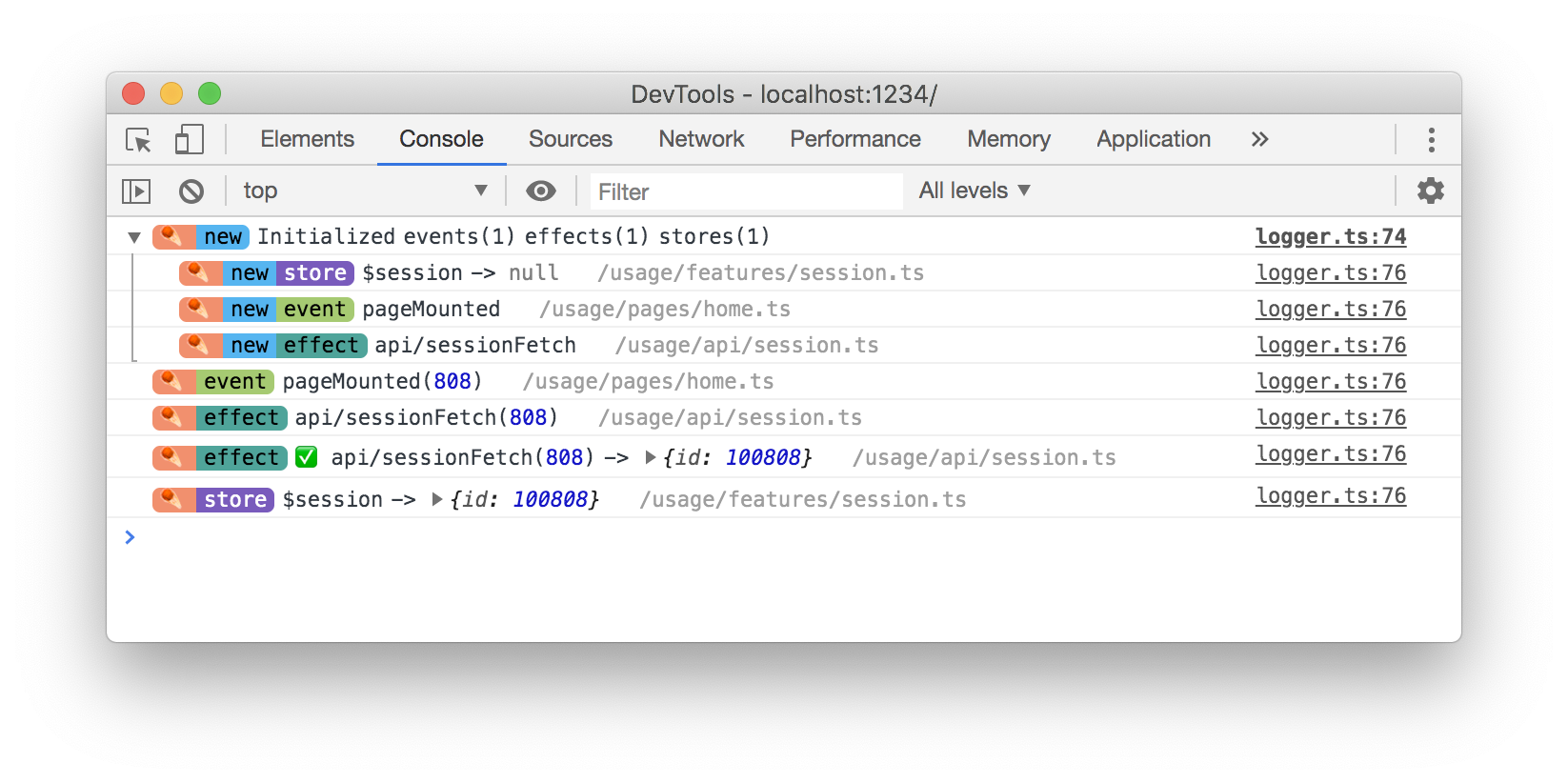 Chrome-DevTools-Console