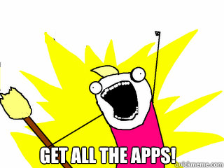 GET ALL THE APPS!