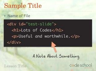 Code Slide