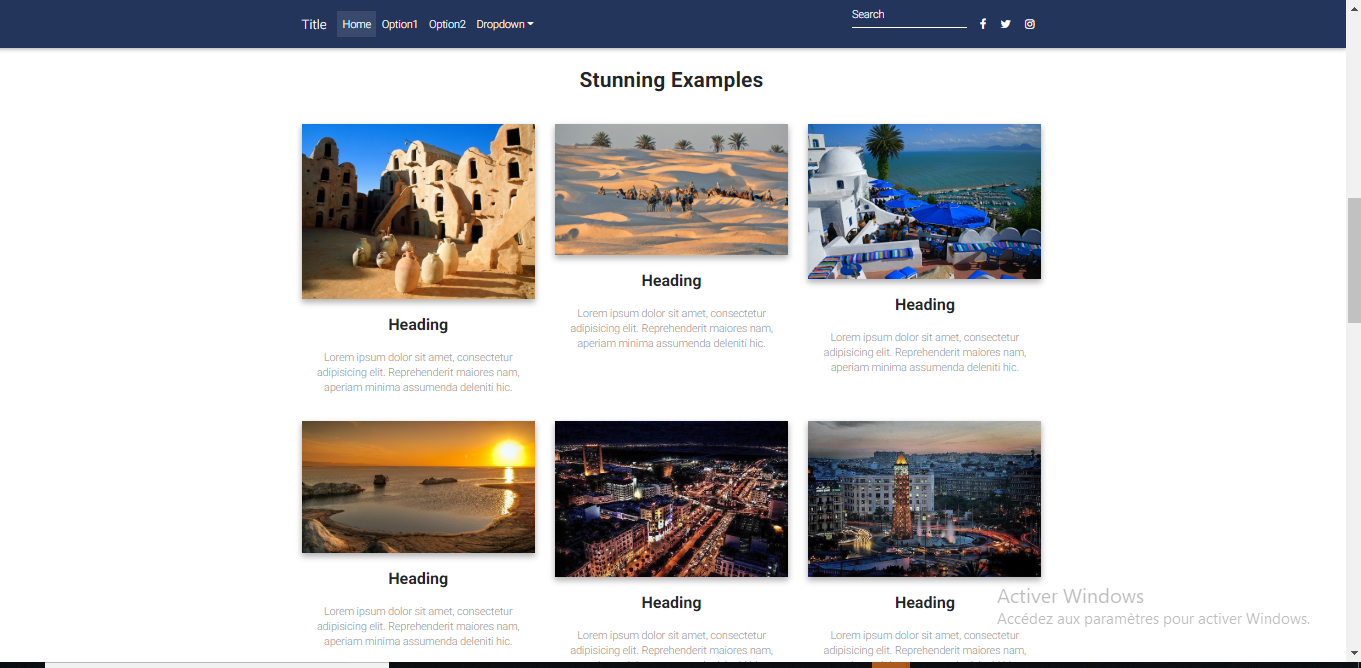 GitHub - fjerbi/Landing-page-html-bootstrap-template: A