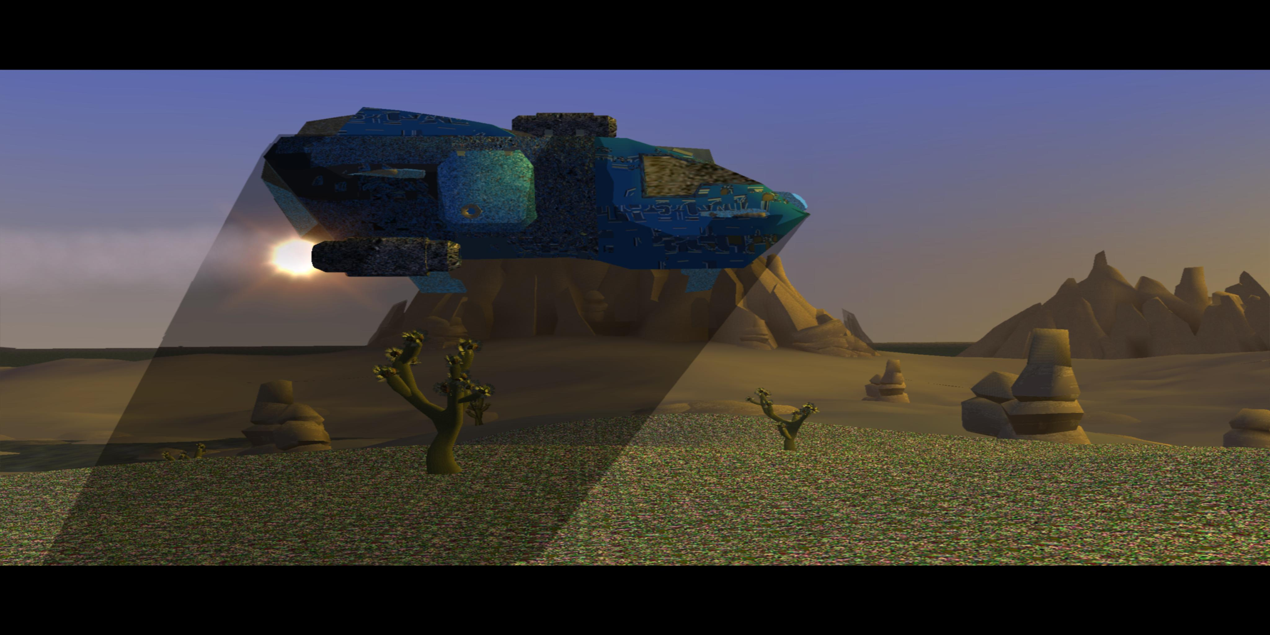Graphics issue: Jak 3 (USA) - SCUS97330 - Corrupted textures and