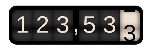 GitHub - JefferyHus/v-odometer: Odometer VueJS component