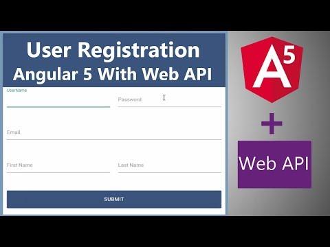 Video Tutorial for Angular 5 CRUD Using Firebase
