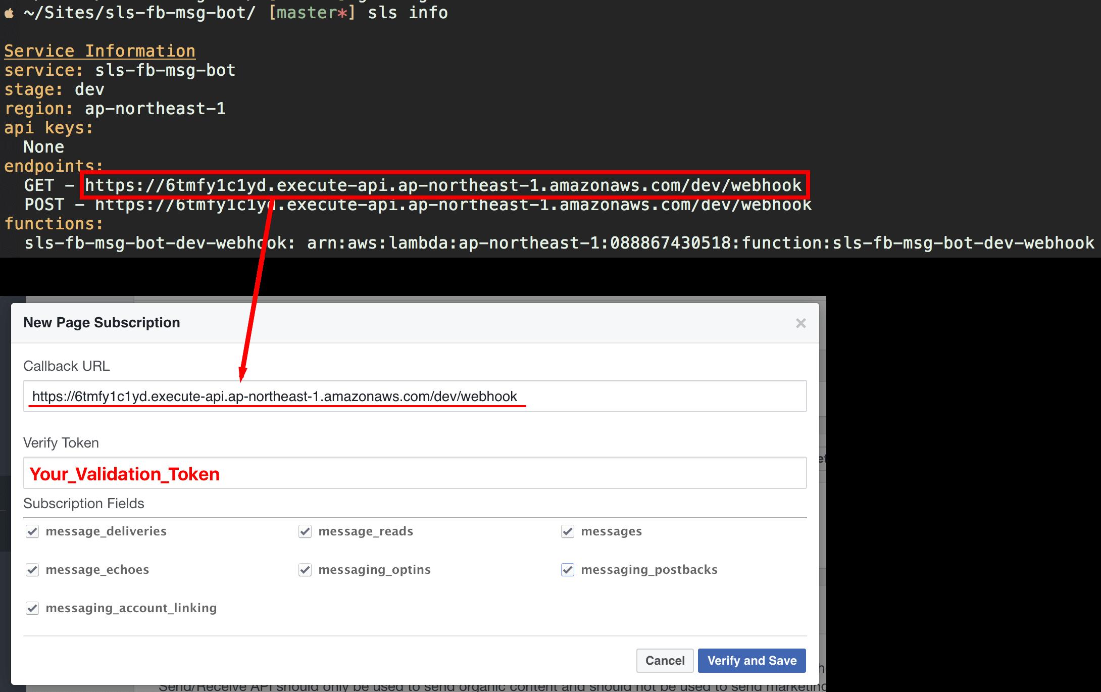 GitHub - SoarLin/serverless-fb-messenger-bot: Use serverless