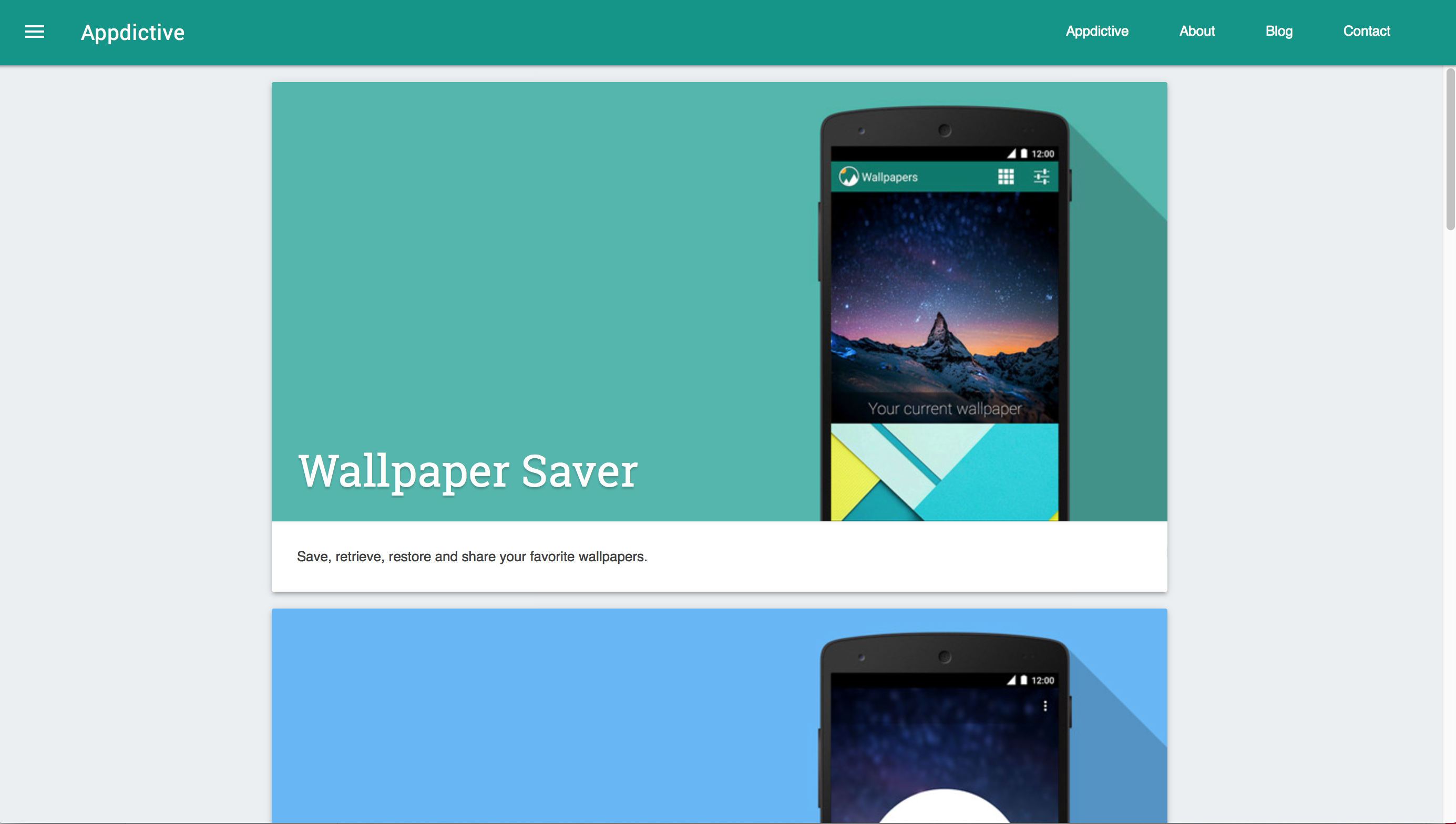 appdictive the website of android app