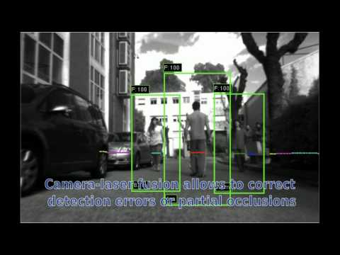 Human Detection with fusion of laser and camera