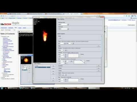 Libgdx 2D Particle Effects