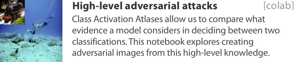 Activation atlas patches