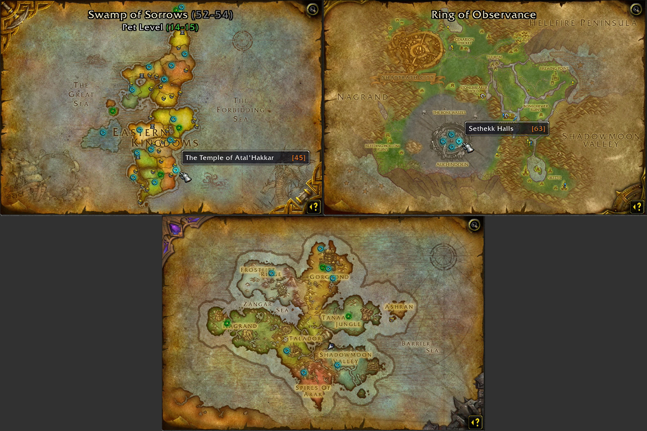 Instance Portals Addons World Of Warcraft Curseforge