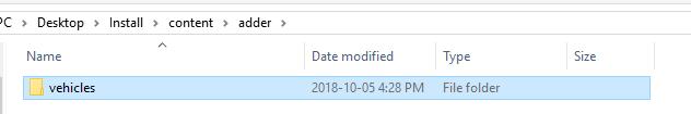 adder folder