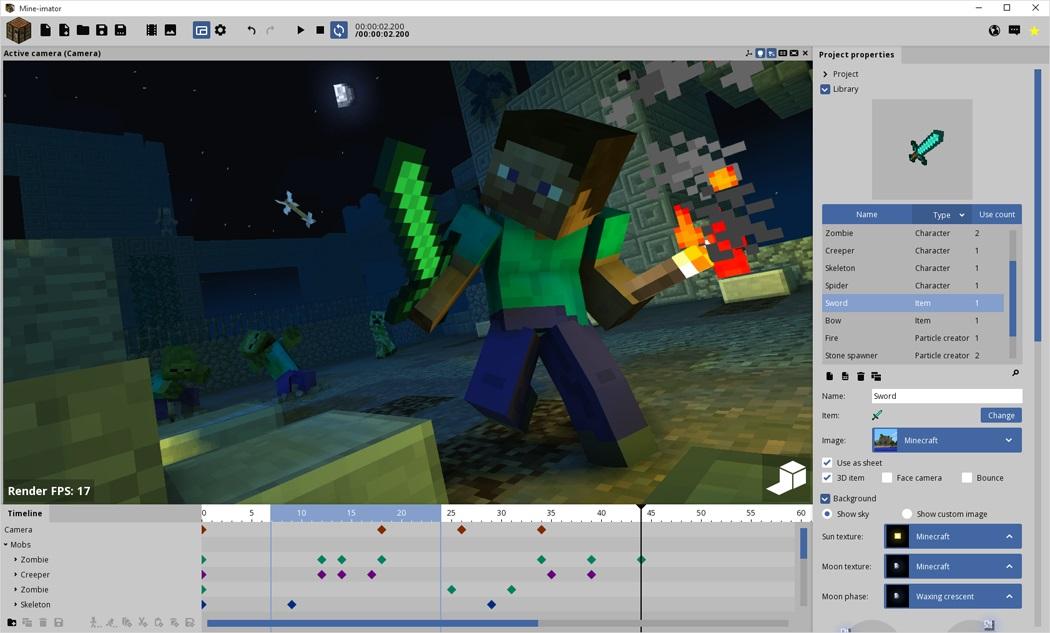 GitHub - stuffbydavid/Mine-imator: 3D movie maker inspired