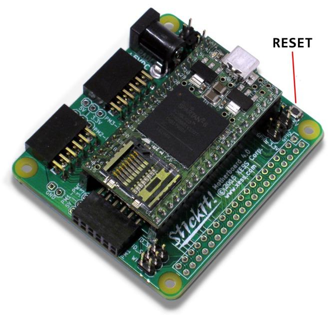 StickIt! Board + XuLA2 Board