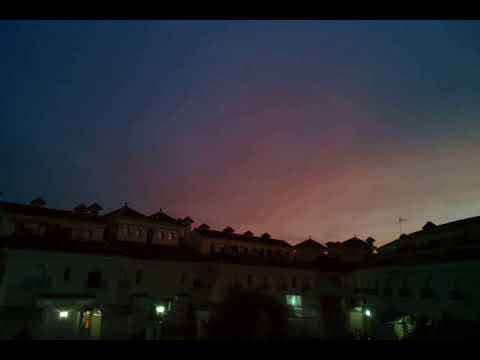 Vídeo: TimeLapse de un atardecer de tormenta