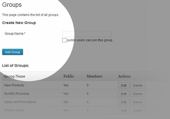 e-newsletter-groups